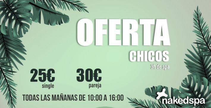 OFERTA MAÑANA CHICOS